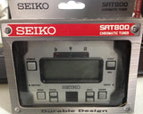 Seiko Sat800 Shock Absorbing  Durable Style Big Display  Chromatic Tuner*