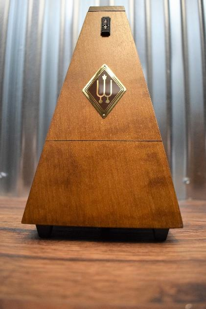 Wittner System Malzel Traditional Metronome 803M Wood Matte Walnut Color Finish*