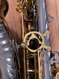Antigua Winds AS3100BQ Eb Alto Saxophone Black Nickel with Lacquered Keys & Case #0017