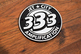 Jet City Amplification 333 Round Logo Badge