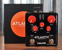 NUX NDR-5 Atlantic Delay & Reverb Guitar Effect Pedal