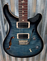 PRS Paul Reed Smith CE 24 Semi Hollow Faded Blue Smokeburst Guitar & Bag 2019 #9402