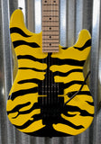 ESP LTD GL-200MT Yellow Tiger Stripe Graphic Guitar & Bag #0161