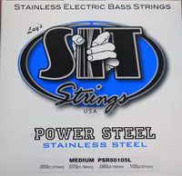 SIT Strings Power Steel Stainless Steel Medium 4 String Bass Set PSR50105