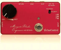 One Control BJF Mosquite Blender Expression Pedal Controlled Effect Blend Pedal