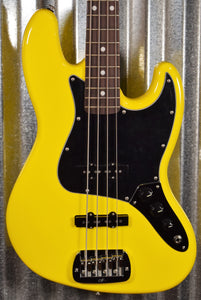 G&L USA Fullerton Custom JB Yellow Fever Jazz Bass & Case 2020 #9031