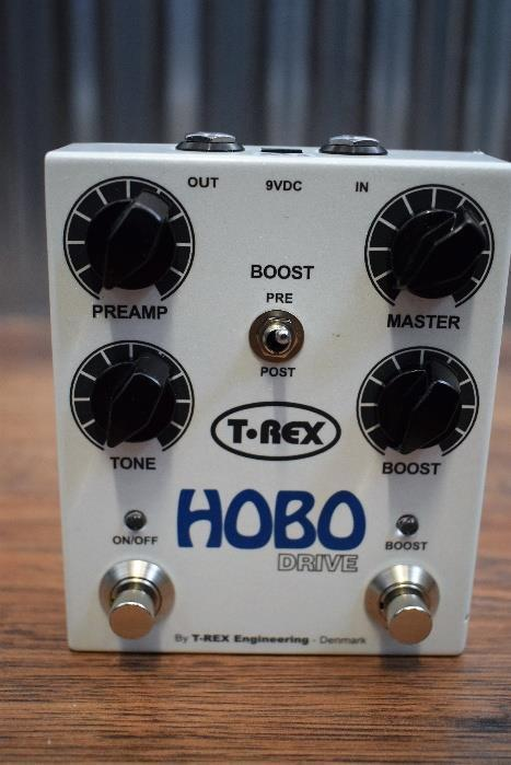 T-Rex Effect Hobo Drive Overdrive & Boost Guitar Effect Pedal #938