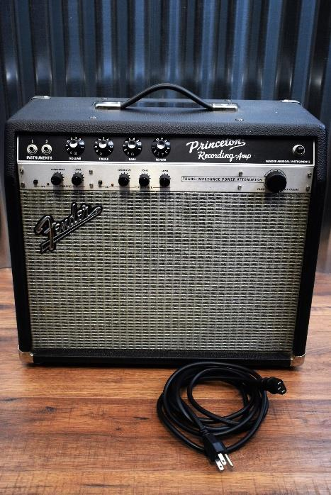 "Fender Princeton Recording Amplifier 20 Watt Tube 10"" Speaker Guitar Combo Amp"