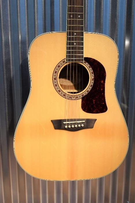 Washburn Heritage HD20S Sold Spruce Top Dreadnought Acoustic Guitar #2446