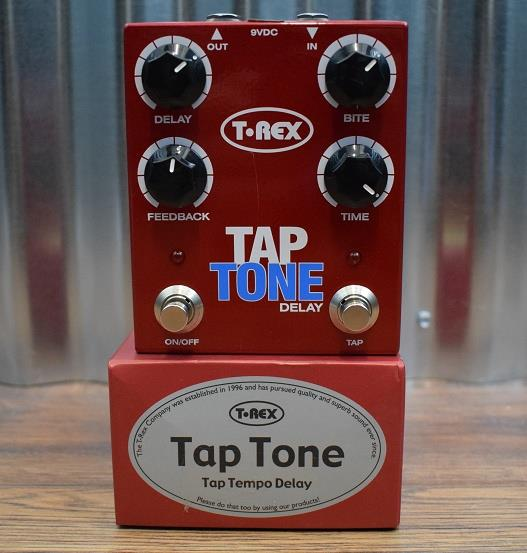 T-Rex Engineering Tap Tone Tap Tempo Delay Guitar Effects Pedal Demo #757