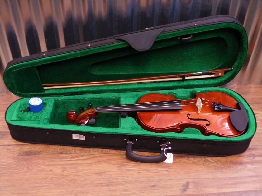Belmonte 9045 4/4 Violin Brown with Bow & Case #1006 *