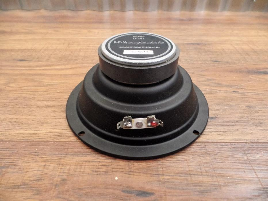Wharfedale Pro D-241 6.5 8 Ohm Mid Range Replacement Speaker  VS-153