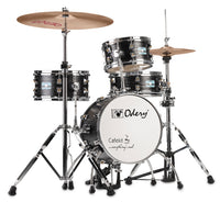 Odery Drums CafeKit Compact Drum Set IRCAFE-KIT-BLA Black Ash