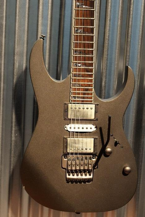Ibanez RG5EX1 Grey Pewter Electric Guitar Players Condition #331
