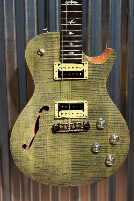 PRS Paul Reed Smith SE Zach Myers Semi Hollow Trampas Green Guitar & Bag #7802