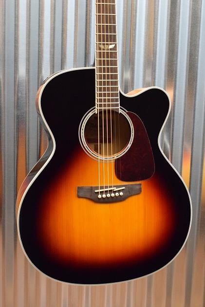 Takamine GJ72CE 6 String Brown Sunburst Acoustic Electric Guitar #936