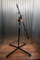 Stageline Stands MS703B Professional Studio Boom Microphone Stand Black
