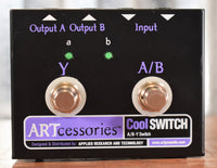 ART Pro Audio Cool Switch A/B-Y Switch Guitar Effect Pedal Used