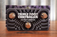 Electro-Harmonix EHX Triple Foot Controller 3 Button Remote Guitar Amp & Effect Pedal TRS Footswtich