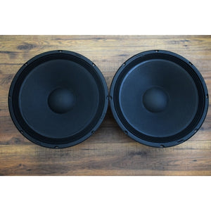 "Wharfedale Pro D-054 15"" 400 Watt 8 Ohm VS SVP Replacement Bass Woofer Speaker Pair"