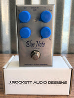 J. Rockett Audio Designs Blue Note Boost Overdrive Guitar Effect Pedal