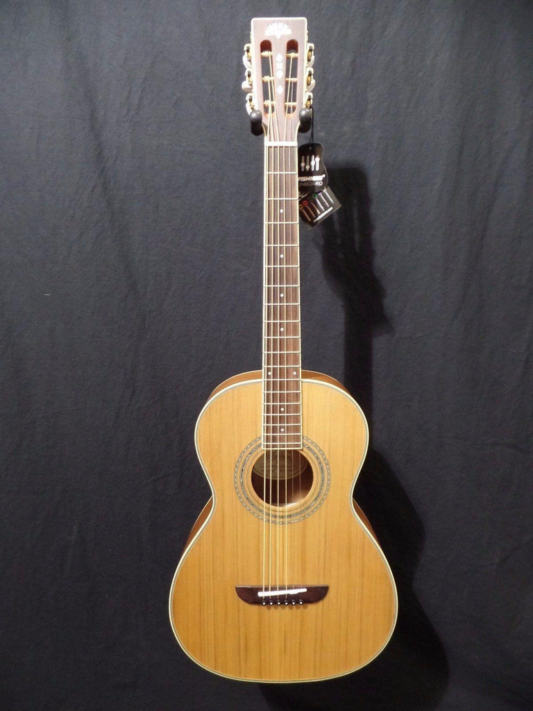 Washburn WP11SENS Acoustic Electric Parlor Guitar Fishman  #2521