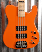 G&L Guitars USA ASAT Bass Go Mango 4 String & Case Used