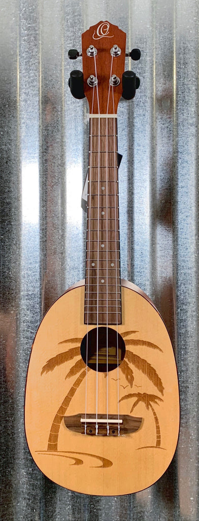 Ortega Guitars RUPA5 Natural Spruce Top Pinaple Concert Ukulele