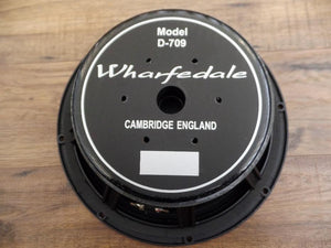 "Wharfedale Pro D-709 12"" 200 Watt  8 Ohm Replacement Bass Speaker"
