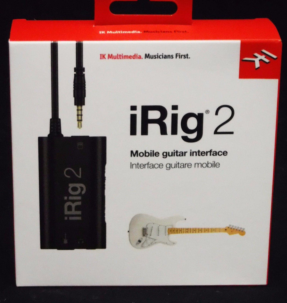 IK Multimedia iRig 2 Guitar Interface for Mobile Devices