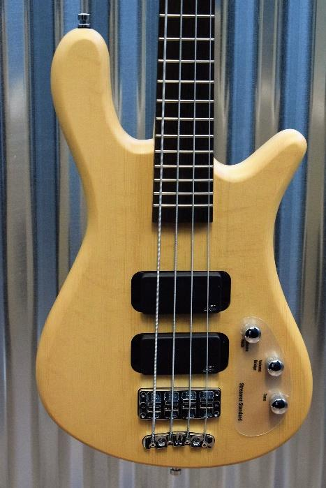 Warwick Rockbass Streamer Standard Natural Satin 4 String Bass & Gig Bag #5516