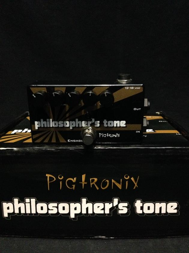 Pigtronix Philosophers Tone Compressor Sustainer & Distortion Pedal Not Working