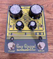 Earthquaker Devices EQD Gray Channel Dynamic Dirt Doubler Guitar Effect Pedal Demo