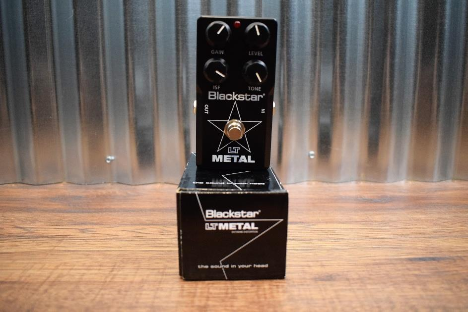 Blackstar LT Metal High Gain Distortion Guitar Effect Pedal