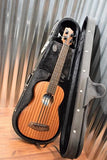 Kala U-Bass SMHG Solid Mahogany Fretless Acoustic Electric U Bass Ukulele & Case