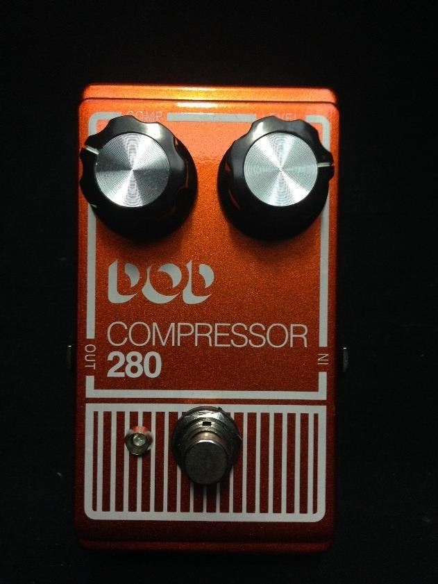 Digitech DOD 280 Compressor Guitar & Bass Effect Pedal Demo