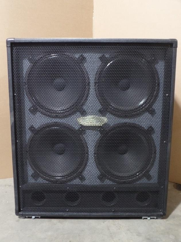 Genz Benz GB 412 G Flex 4x12 Speaker Cabinet 412GFLEX #6035*