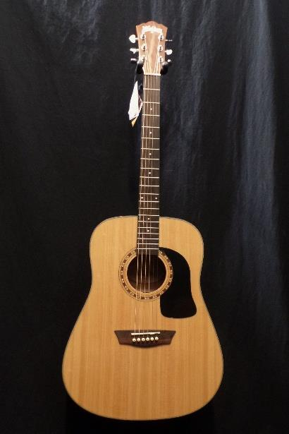 Washburn WD5K Premium Top Acoustic Guitar & Case #0269