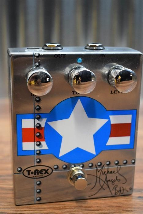 T-Rex MAB Michael Angelo Batio Signature Overdrive Guitar Effect Pedal #1935