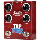 T-Rex Engineering Tap Tone Tap Tempo Delay Guitar Effects Pedal Demo #116