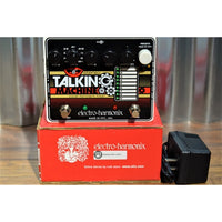 Electro-Harmonix EHX Stereo Talking Machine Vocal Format Filter Guitar Effect Pedal