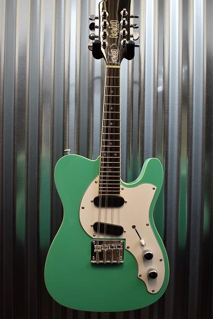 Eastwood Guitars Mandocaster Electric Mandolin Seafoam Green #1465