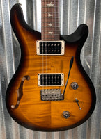PRS Paul Reed Smith USA S2 Custom 22 Semi Hollow Tri Color Burst Guitar & Bag 2019 #8957