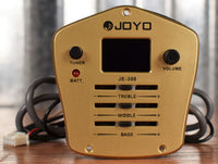 Joyo JE-308 3 Band EQ Digital Tuner On Board Acoustic Guitar Preamp & Pickup