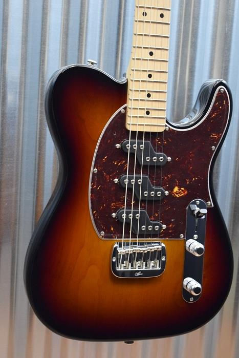 G&L Guitars USA Custom ASAT Z3 3 Tone Sunburst Guitar & Case 2016 #7639