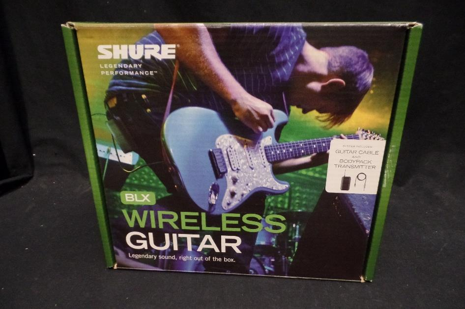 Shure BLX14-J10 Guitar Bass Instrument Wireless Body Pack & Receiver System *