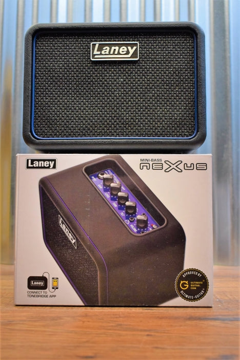 Laney Nexus Mini Bass NX Battery Powered Amplifier MINI-BASS-NX Demo