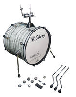 Odery Drums CafeKit Expansion 20 x 16 Kick Drum IRCAFE-EXP-WM White Mist