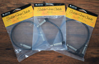 Joyo Audio Solder Free Guitar Bass Instrument Pedalboard Right Angle Patch Cable 3 Pack