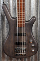 Warwick German Pro Series Corvette Standard Nirvana Black 5 String Bass & Bag #7819